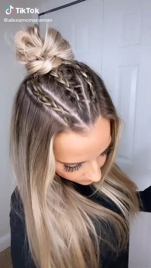 Aprenda Mais de 40 Penteados Profissionais Passo a Passo   – Peinados facile