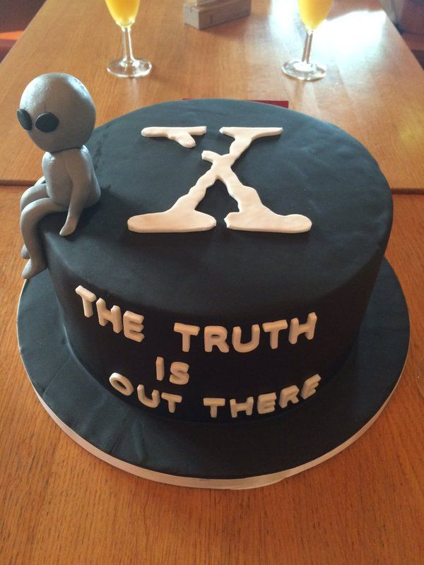 the x files cake cookies and cakes pinterest the x files x on birthday cake x