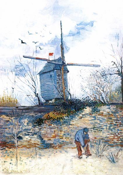 Le Moulin de la Galette. Tras su llegada a París en 1886 para vivir ...
