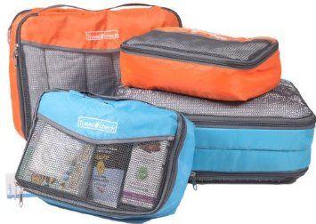 Reise Pack Organisationswürfel für aufgeräumte Koffer und Taschen - 2-teiliges Set (Gelb): Amazon.de: Koffer, Rucksäcke & Taschen