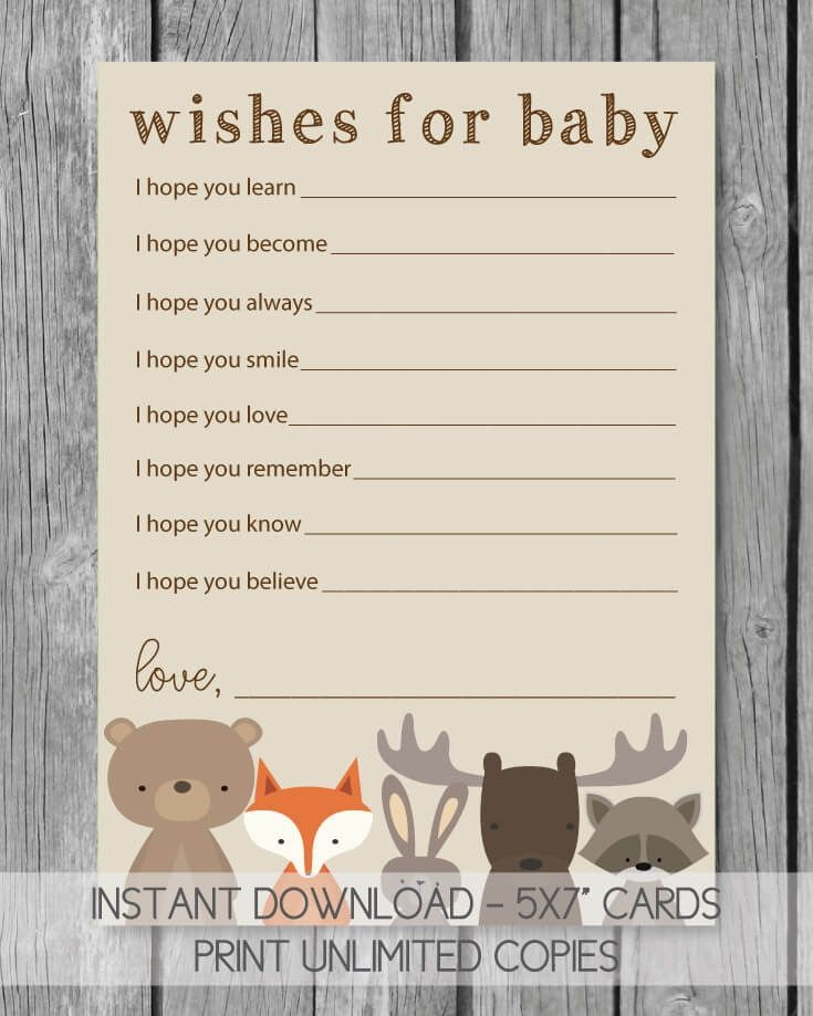 Adorable Baby Shower Games With Printable Templates Baby shower - baby shower program template