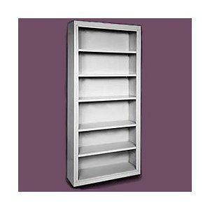 Sandusky+Cabinets+84''+H+Deep+Six+Shelf+Bookcase