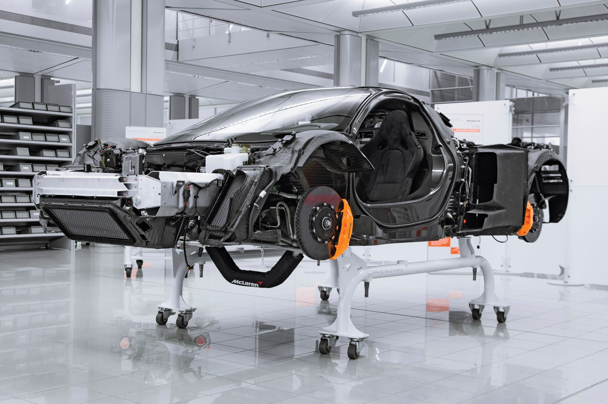 The Hypercar Blueprint Motor Trend Chassis Fabrication Super Cars Mclaren P1