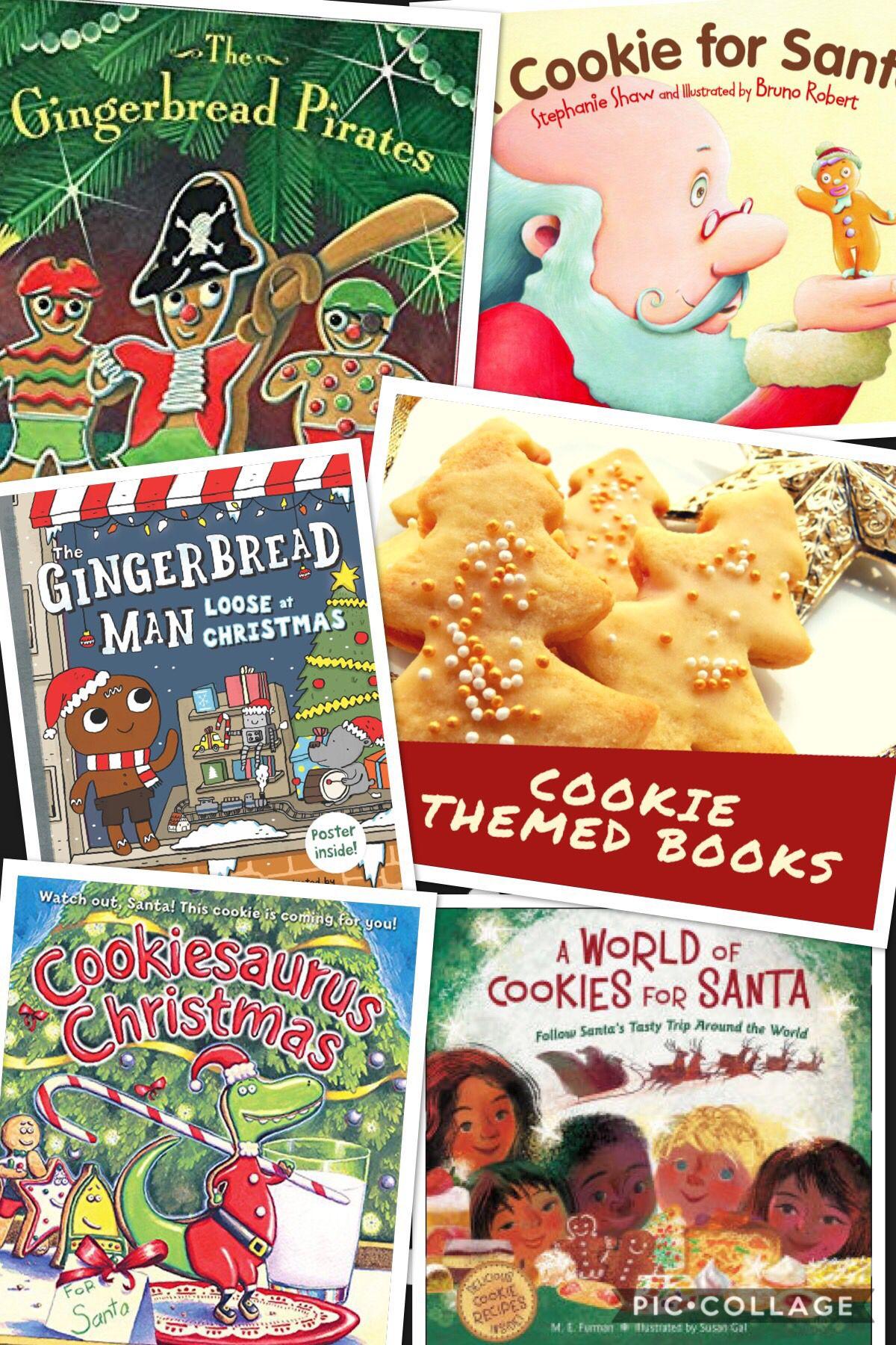 Cookie Themed Read Aloud Christmas Read Aloud Read Aloud Christmas Books