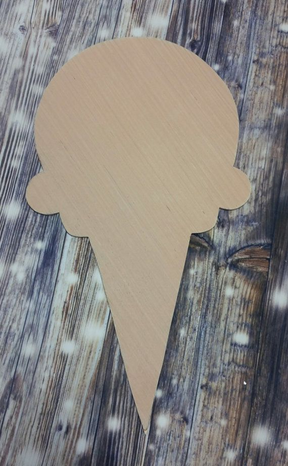 WOODEN ICE LOLLY MDF CRAFT SHAPE