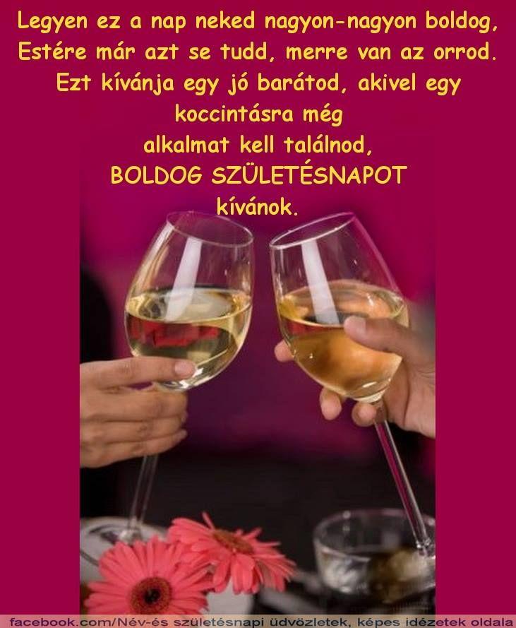 név és születésnapi üdvözletek képes idézetek Pin by Katalin Martyin on SZüLI_NAP   Name day, Birthday, Happy