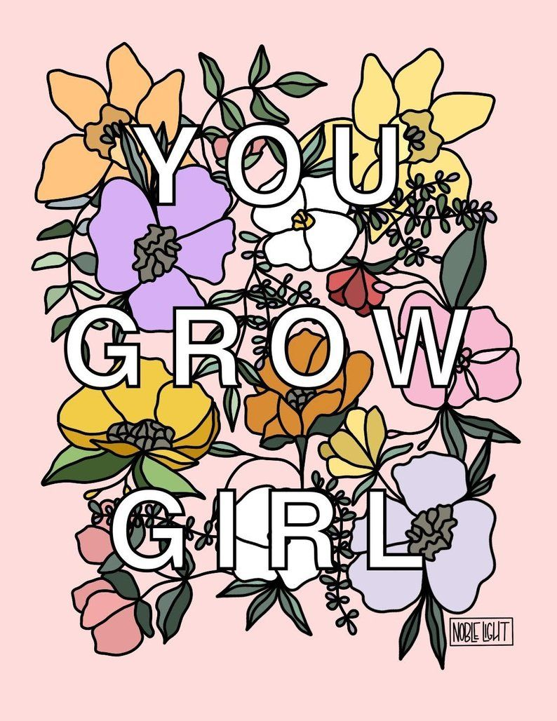 You Grow Girl Coloring Page Coloring Pages For Girls Coloring