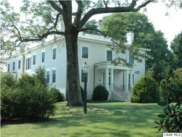 Manor House design...Built in 1833... Previously owned and built by Thomas Jefferson's builder, William Phillips -  Charlottesville, Virginia