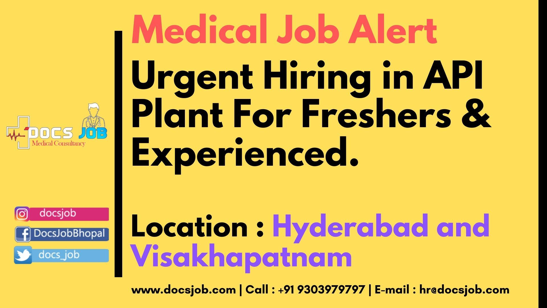 Urgent hiring in API Plant For Freshers & Experienced