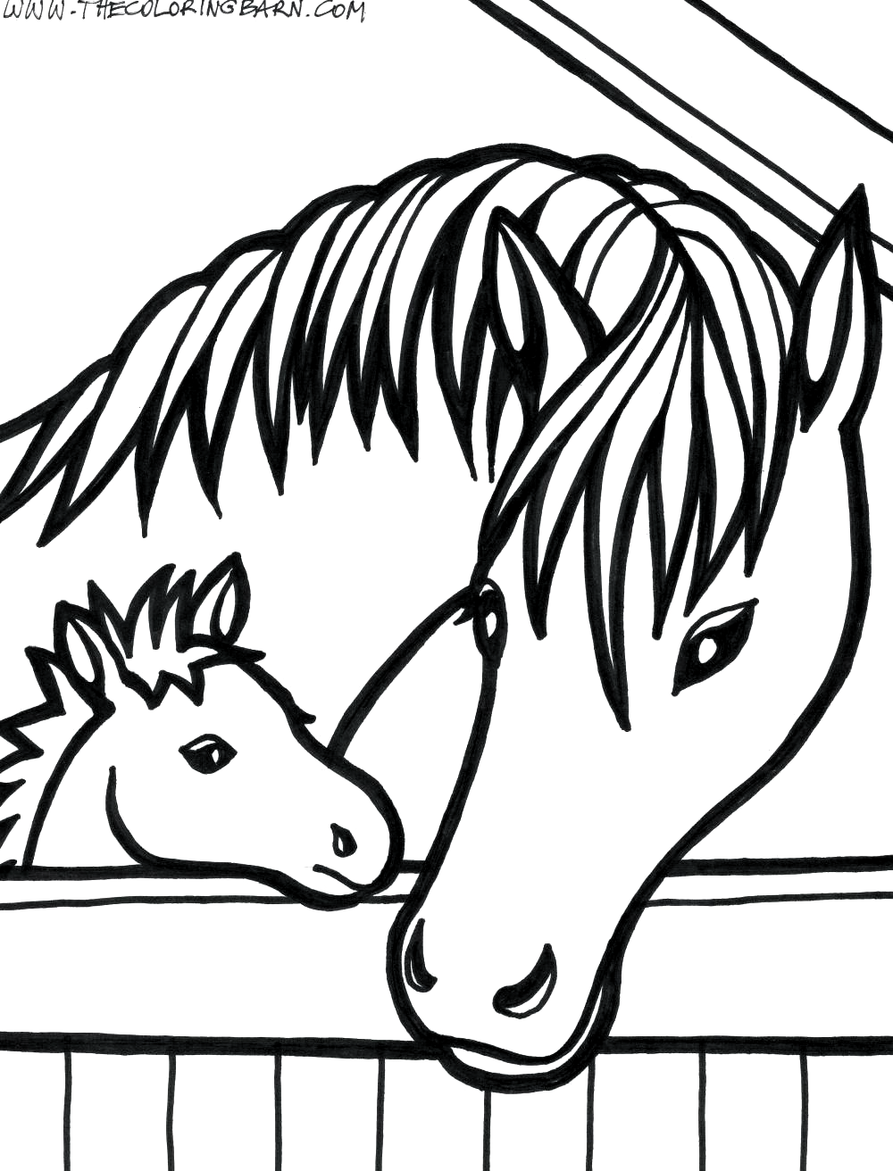 Baby Horse Coloring Pages For Kids Baby Horse Coloring Pages For Kids Unicorn Coloring Pages Baby Horse Co In 2020 Horse Coloring Pages Horse Coloring Coloring Pages