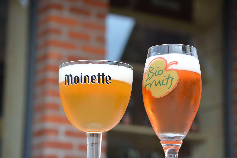 Vous prendrez bien une Moinette à Tourpes ! - Bio fruit - Brasserie Dupont - Wallonie picarde - Wapi - Visitwapi.be