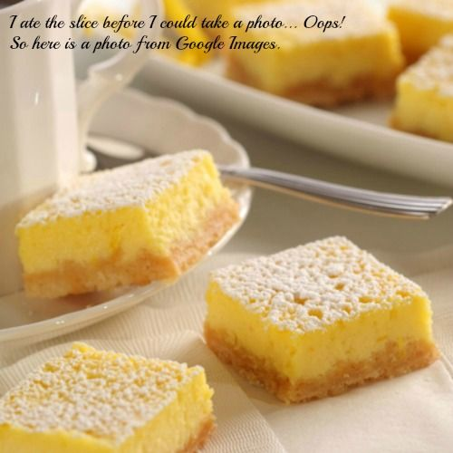Lemon slices cake recipe