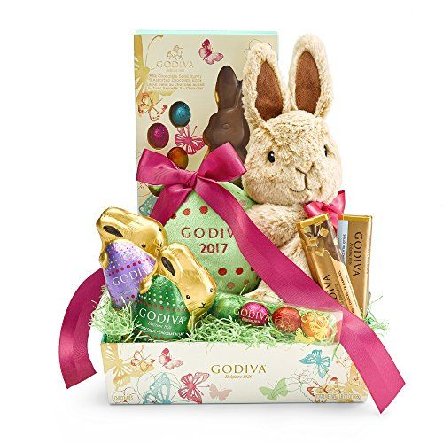 Godiva chocolatier gift basket easter cheer godiva choco https 1 gift basket included is plenty of sweets to savor and share surprise your loved ones with easter gift baskets filled to the brim with gourmet godiva negle