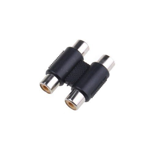 2 Rca Audio Video Female To Female Coupler Adapter 2rca Connector Adapter By Neewer 1 34 Package Conten Electronic Accessories Audio Accessories Accessories