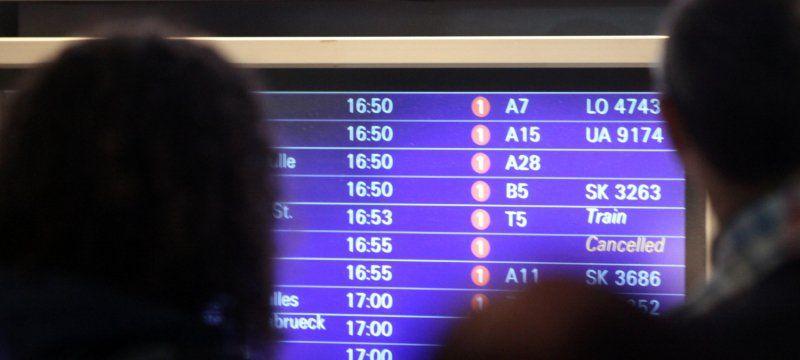 Flughäfen Abflug Aktuell