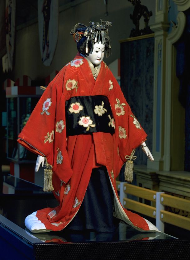 japanese puppets bunraku bunraku puppet japan 19th
