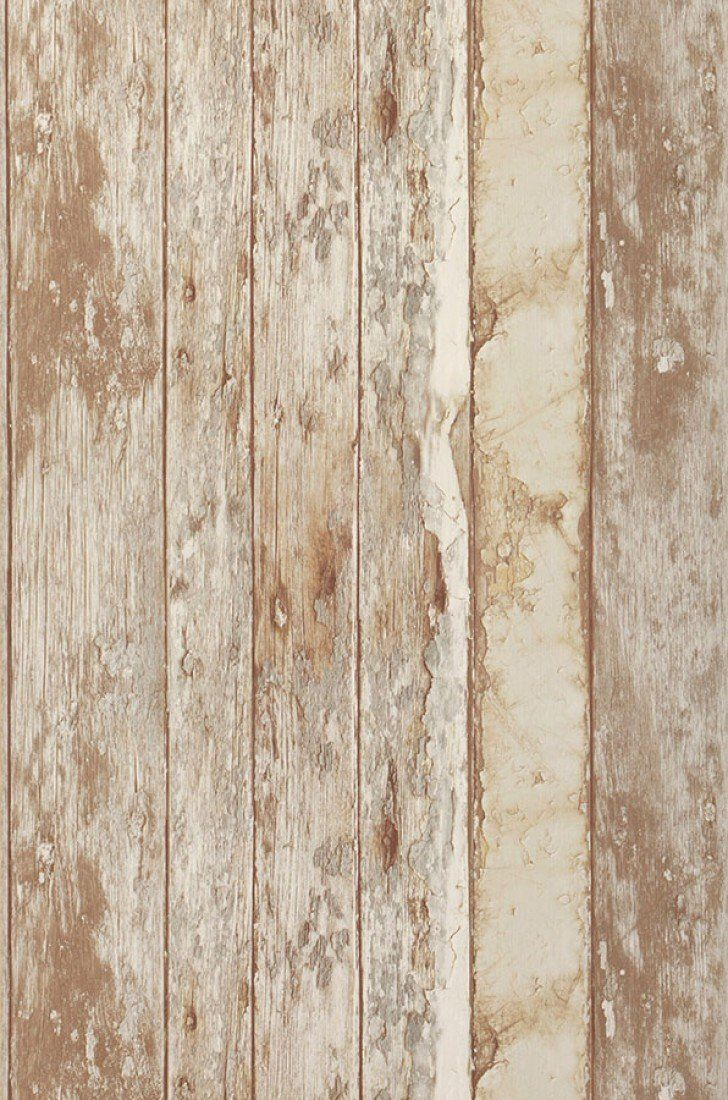 wallpaper wood effect pale brown fond