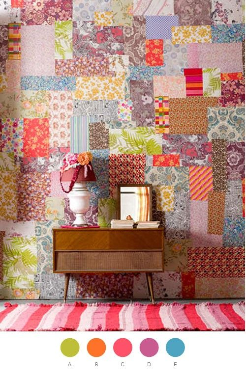 35 Cool Ideas To Decorate Your Home With Patchwork Walls Shelterness