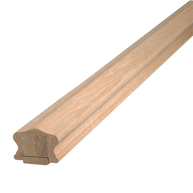 Best Oak Handrail With Fillet 6 Natural Rona Oak 400 x 300