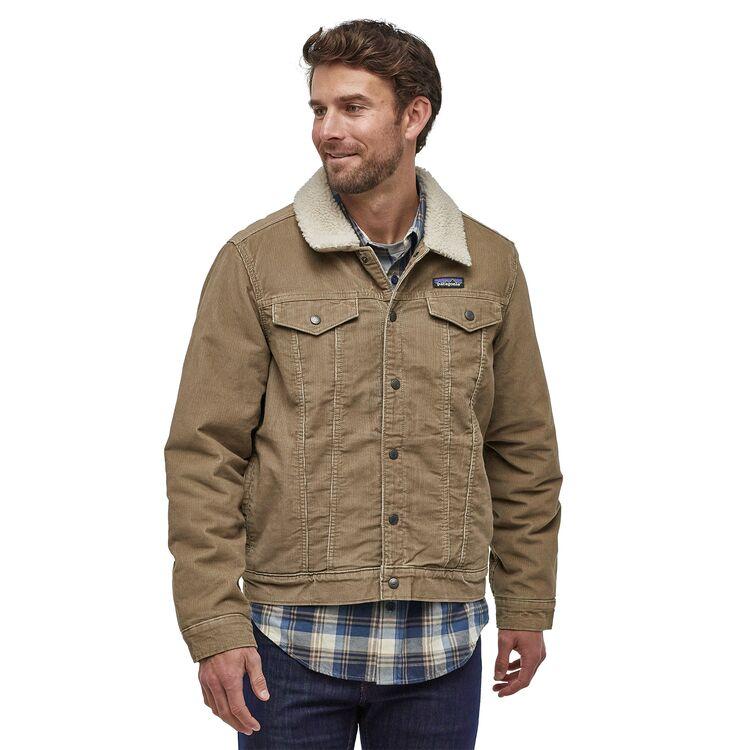 M's Pile Lined Trucker Jacket, Trucker jacket, Trucker