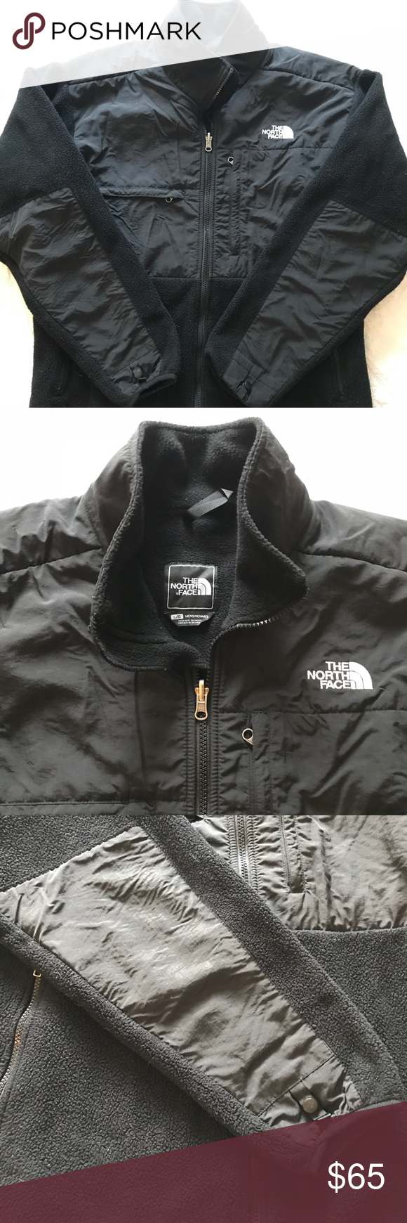 Menus north face denali fleece jacket in my posh picks