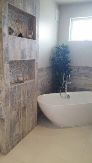 Tile niches wall