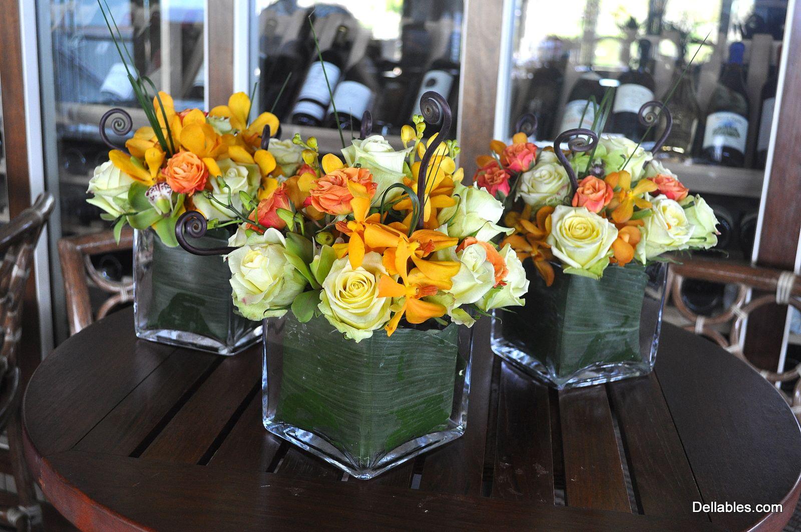 Image detail for -Dellables Blog - Maui Wedding Flowers: Table Arrangement Ideas