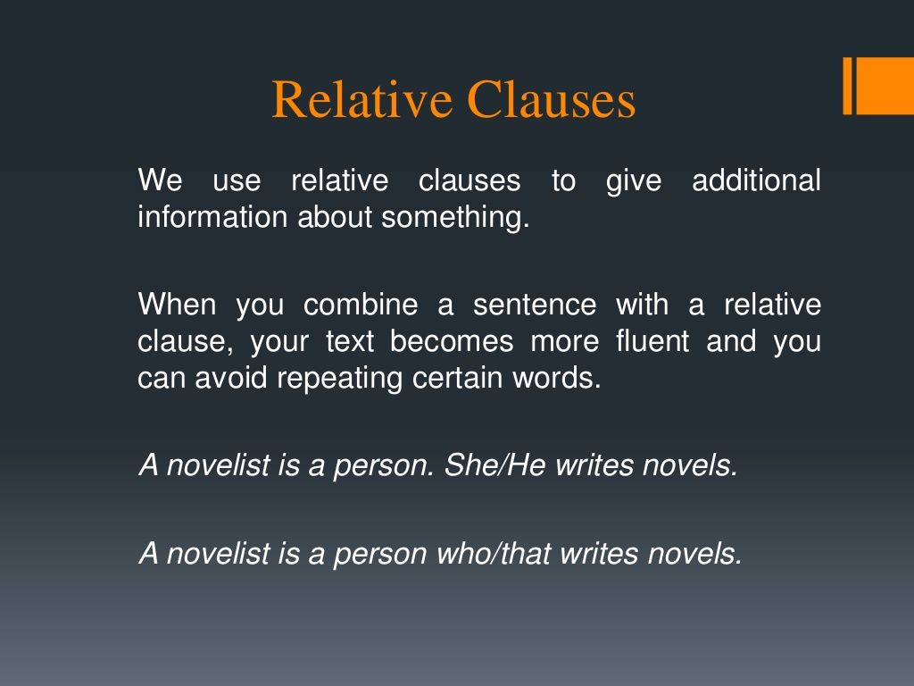 Relative Clauses 2nd Grade By Silviamilagres Via