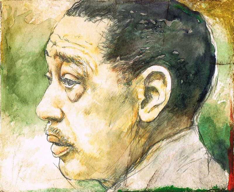 """""""Duke Ellington"""" by Jack Coughlin available at the R. Michelson Galleries"""