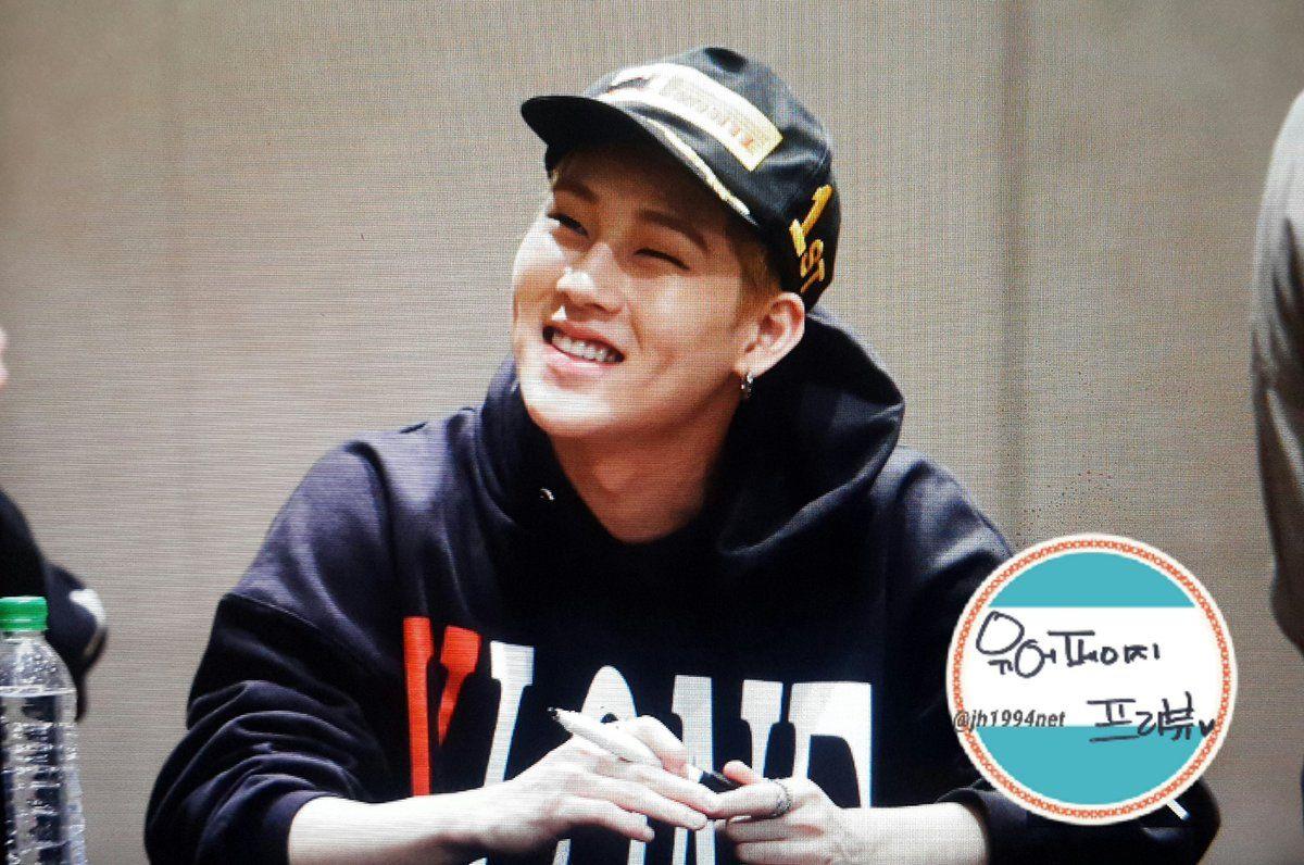 Jooheon @ fansign 170325