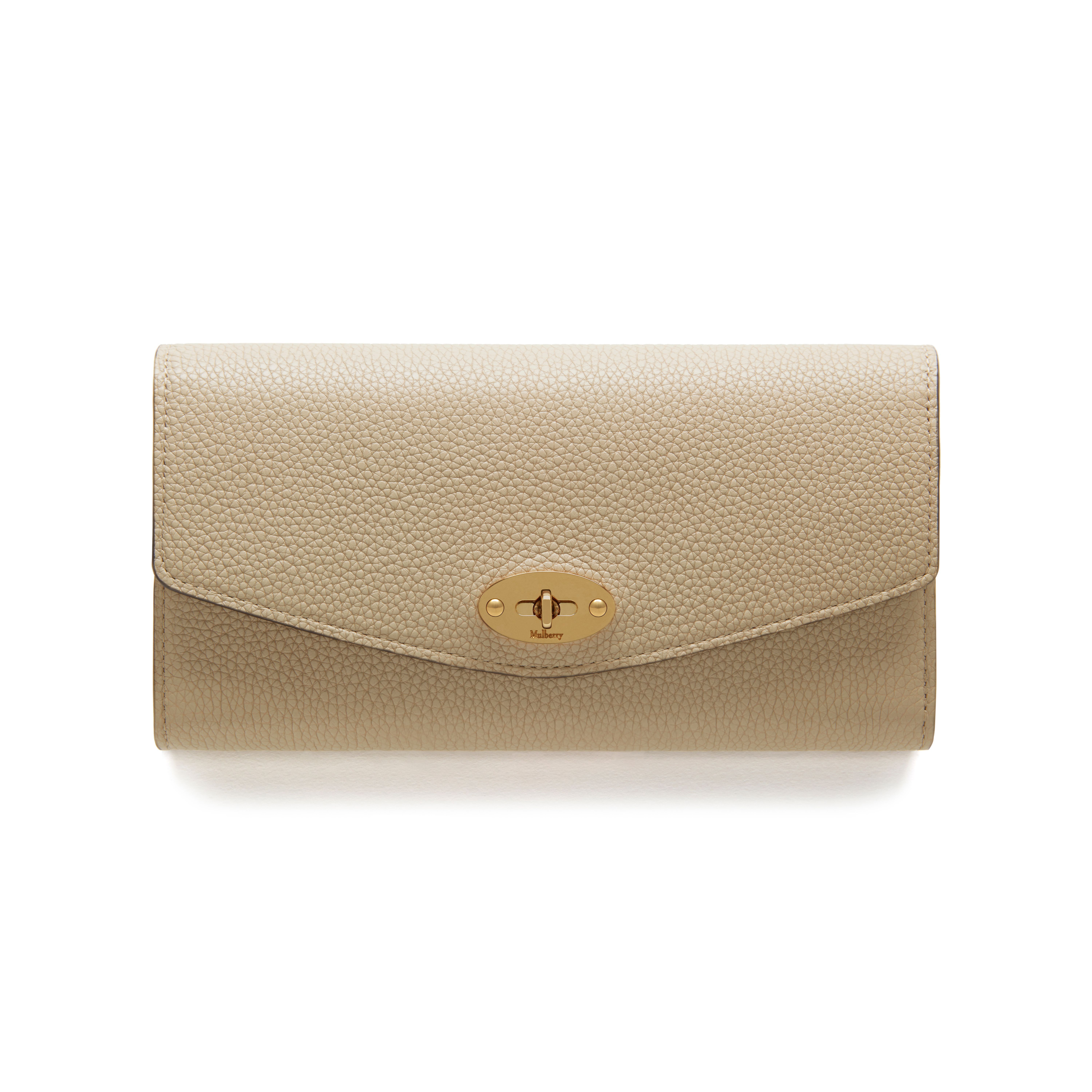 1baf72503a Mulberry - Darley Wallet in Dune Small Classic Grain