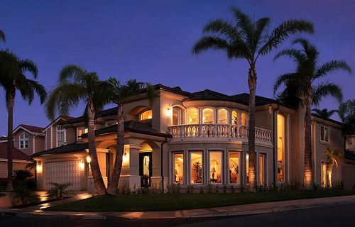 Palm Trees Around My Dream House Unique House Plans Mediterranean House Plans Luxury Homes