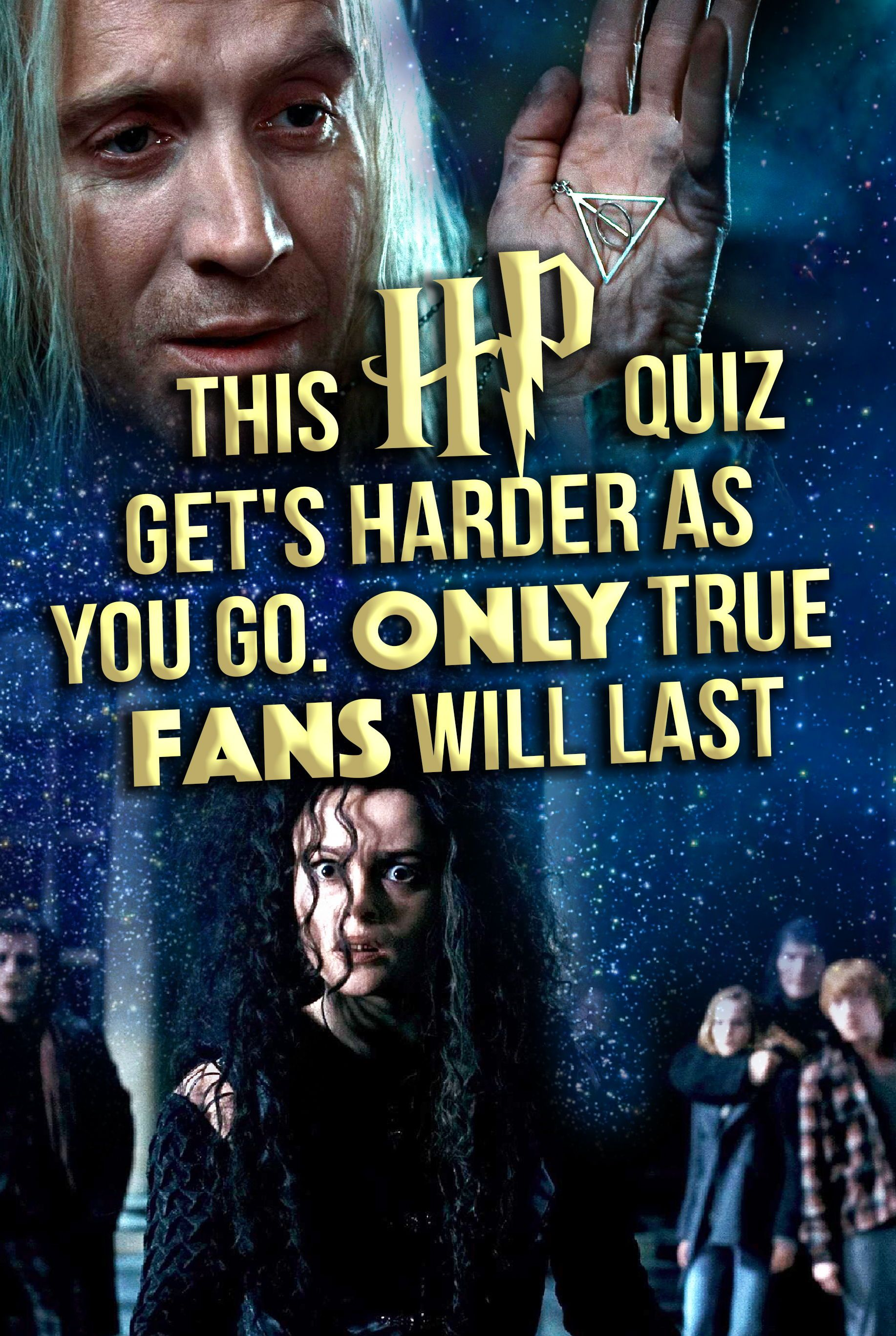 Quiz: This HP Quiz Get's Harder As You Go  Only True Fans