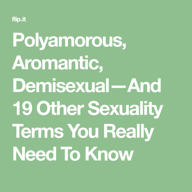 Aromantic demisexual