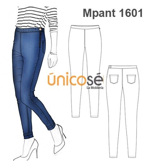 Moldes Unicose Pantalones De Moda Ropa Pantalones Mujer