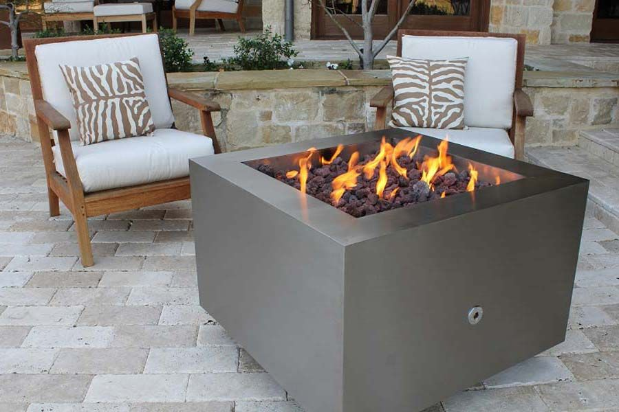 Gas fire pits are designed for warmth and the aesthetic ...