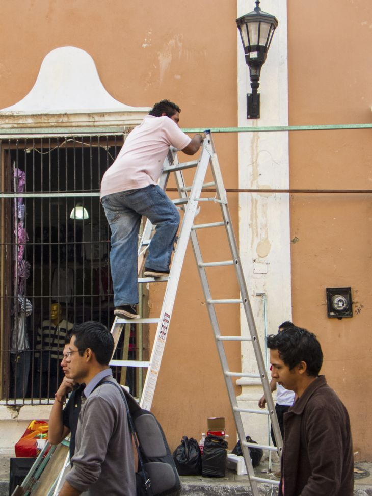 "©Sin titulo, de la serie: ""La chamba"" 15 de Julio de 2013 Campeche, Camp; México."