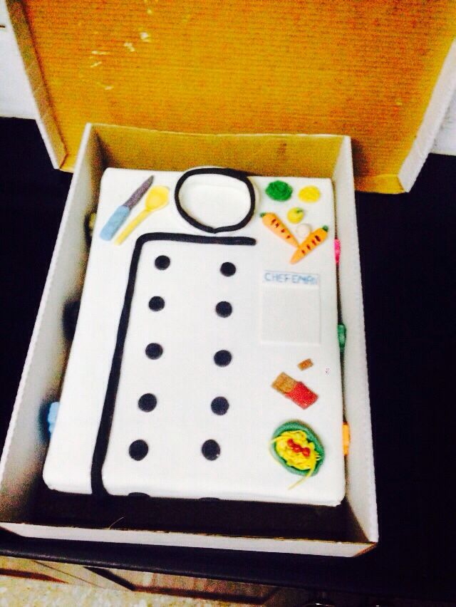 كعكة عيد ميلاد الشيف ايمان
