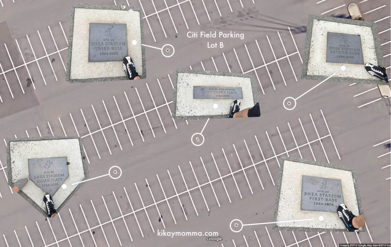 Citi Field Parking Map on