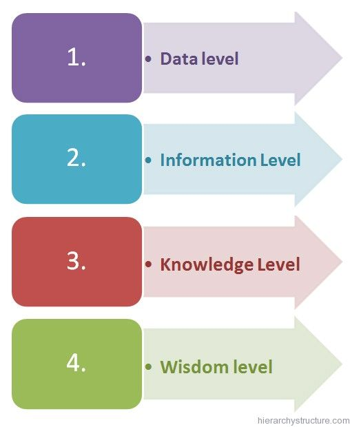 Business Intelligence Hierarchy Business Intelligence Business Management Bi Business Intelligence