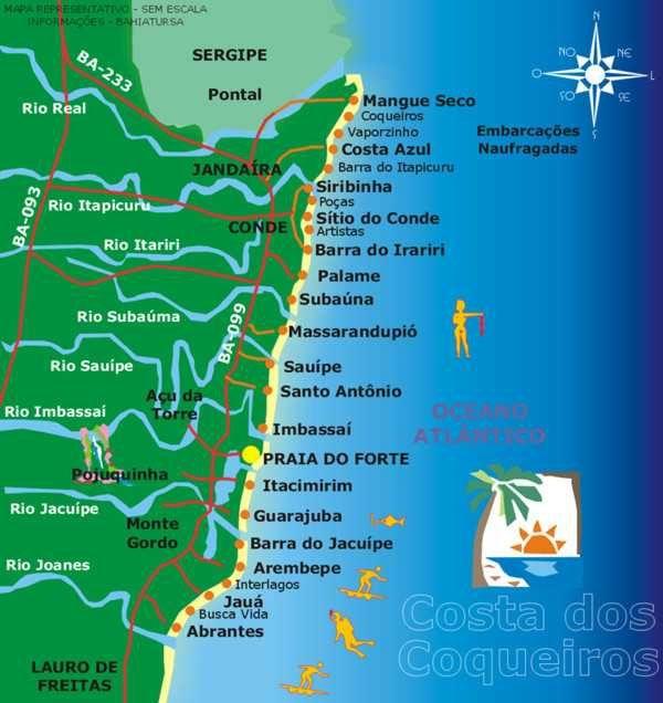 Pin De Marcos Em Mapas Litoral Norte Litoral