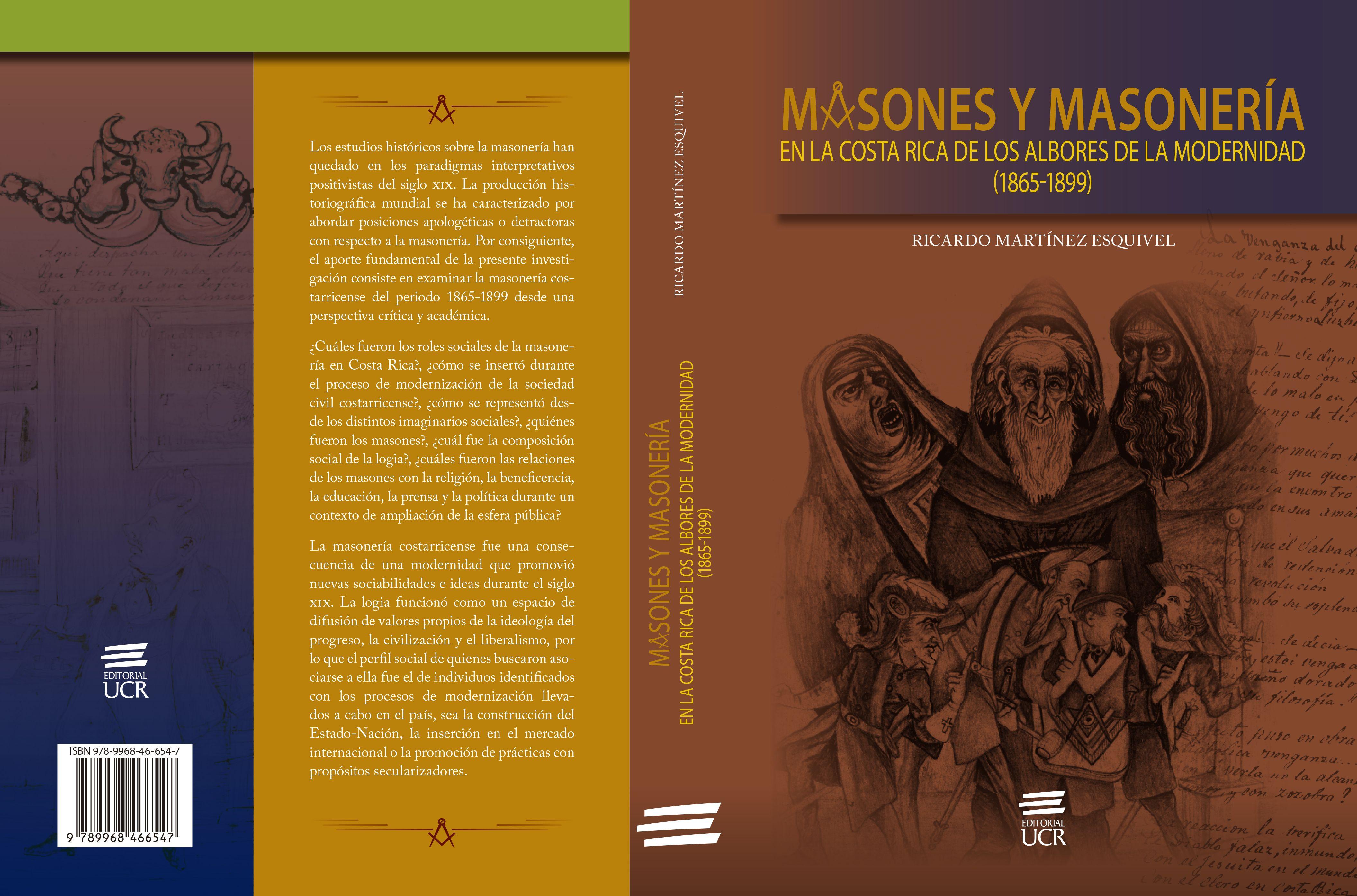 Masones y masonería en la Costa Rica de los albores de la modernidad