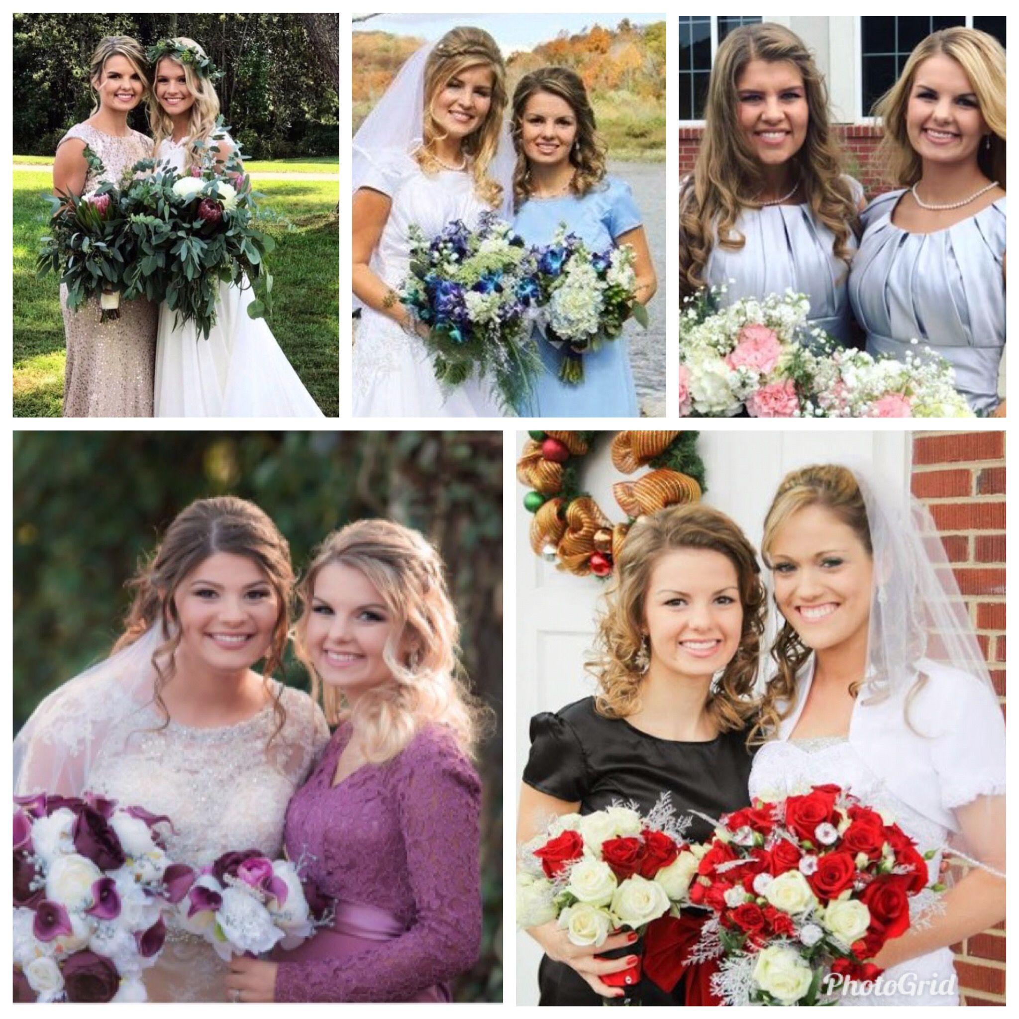 Alyssa has been an attendant in every bates wedding so far