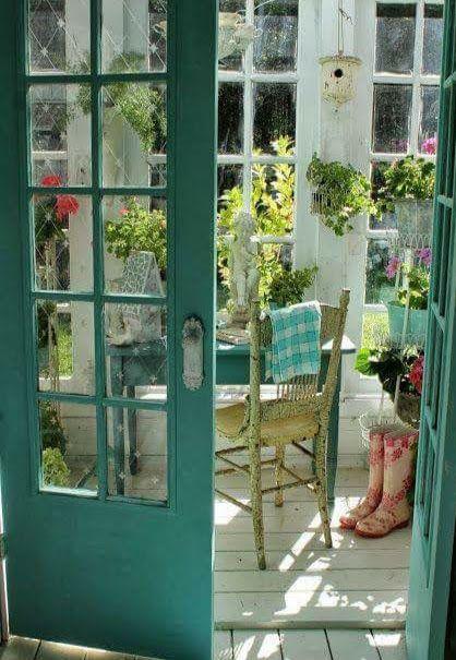 terrasse et jardin d\'intérieur   Wintergarten, Gartenhaus ...