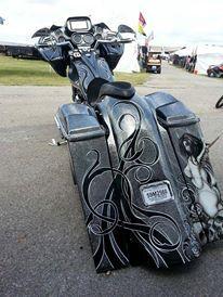 65 Bike Paint Ideas Harley Davidson Baggers Harley Davidson Bikes Bike