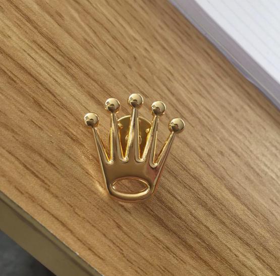 2d Rolex Crown Pin Badge Pin Badges Pin Badge