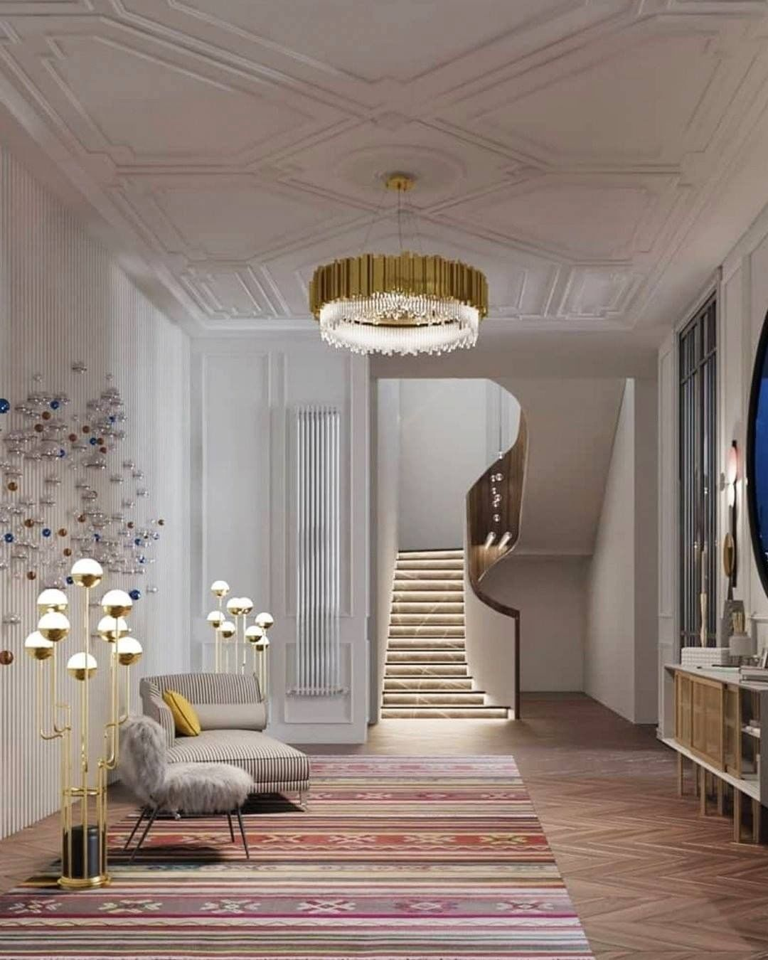 Best Interior Designers On Instagram Empire Oval Suspension By Luxxumoderndesignliving Is A In 2020 Top Interior Designers Hall Design Interior Design Inspiration