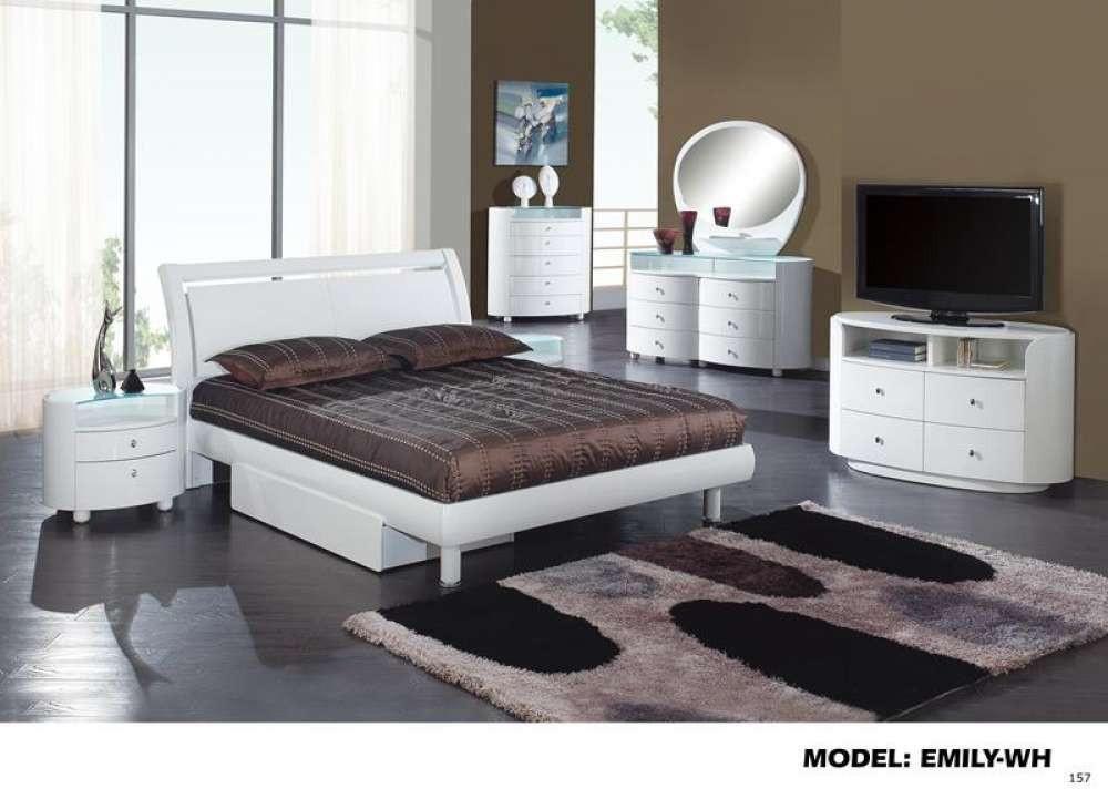 Global Furniture Optional Drawer For Emily Evelyn White Mdf Wood Veneer Wood Bedroom Sets Bedroom Furniture White Bedroom Set