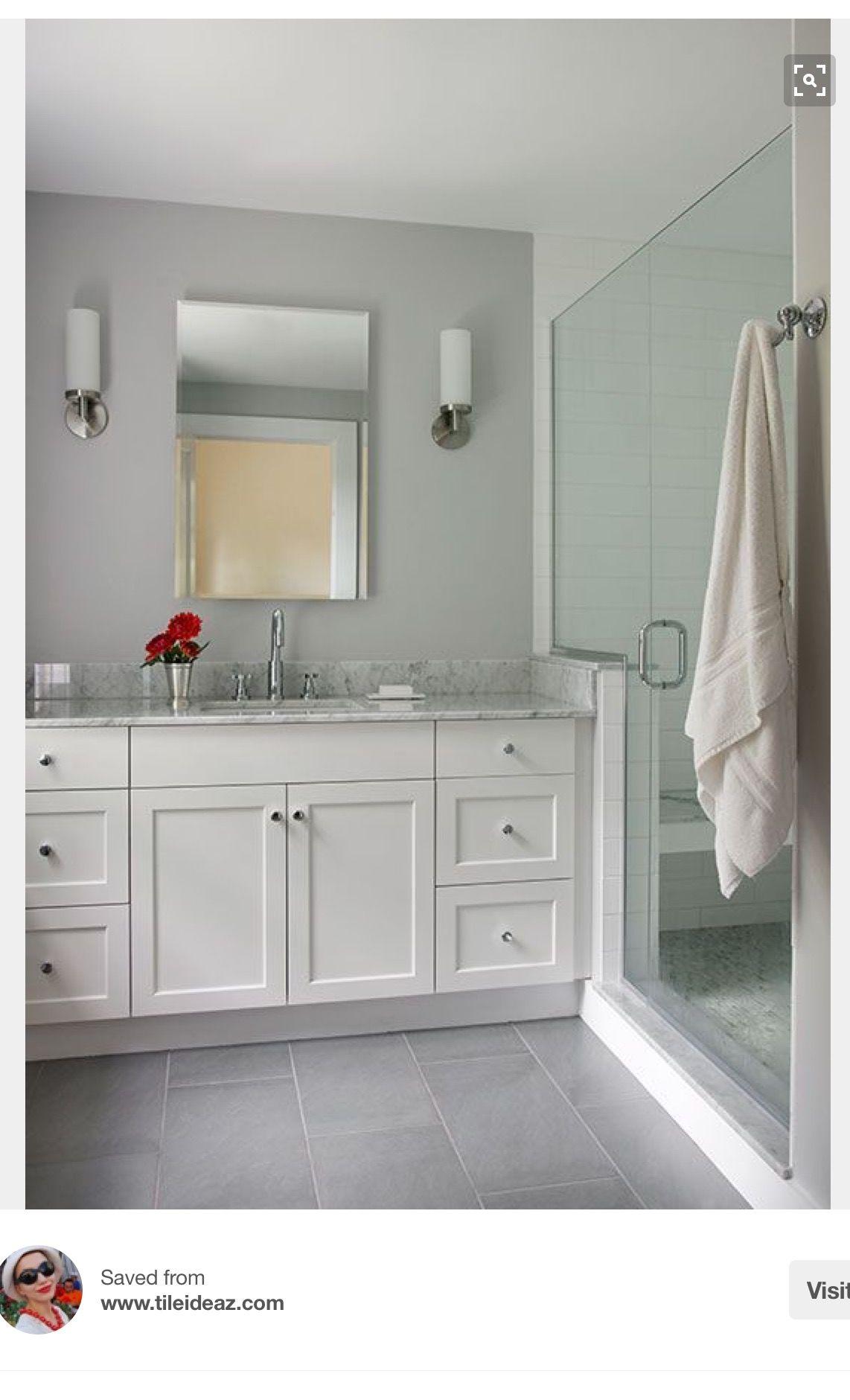 Pin by Debbie Weeks on Bathrooms Grey bathroom floor