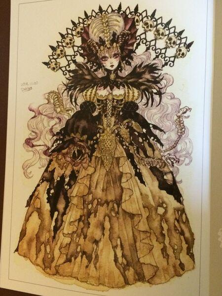 Sakizo Julietta Necromancer from Fantasy of the Dream